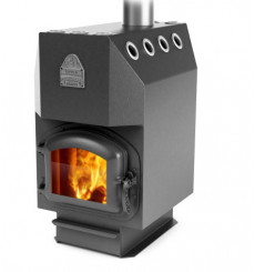 Poêle Engineer anthracite 16 kW
