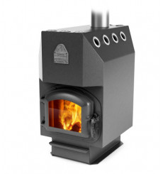 Poêle bois/charbon Engineer anthracite 16 kW