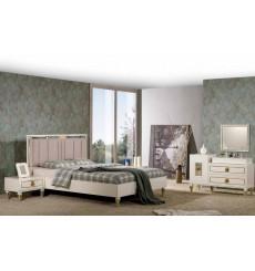 Chambre adulte complète SILVA 160 x 200 cm