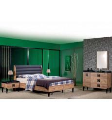 Chambre adulte complète MESSINA160 x 200 cm