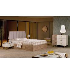 Chambre adulte complète LINE 160 x 200 cm