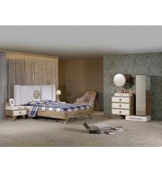 Chambre adulte complète ZIRKON 160 x 200 cm