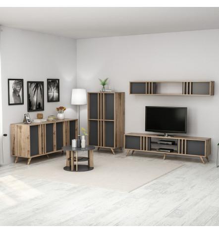 Salon complet Modern Dore