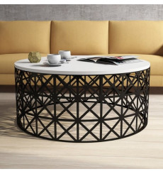 Table basse SELIN blanche