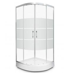 Cabine de douche DINIO 80x80x195 cm