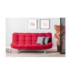 Canapé MİSA ROUGE 200 x 100 x 95