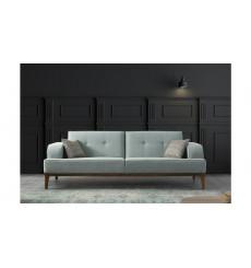 Canapé ATLAS VERT EAU 216 x 80 x 78