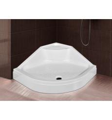 Receveur de douche ovale avec assise SANDY en plusieurs dimensions