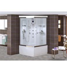 Combiné baignoire-douche SIDERA SYSTEM-1 en 90x90 ou 100 x 100 cm