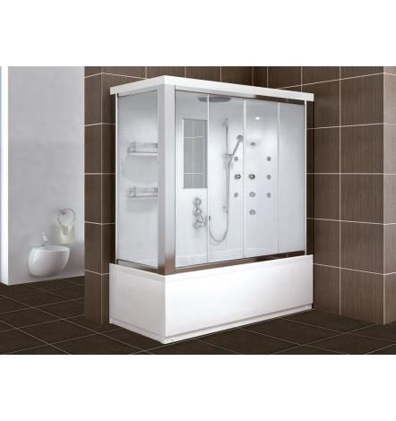 Combiné baignoire-douche STELLA en 120/130/140 x 70 cm