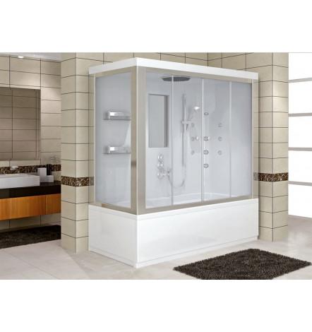 Combiné baignoire-douche DELPHINO MINI en 120/130/140 x 70 cm