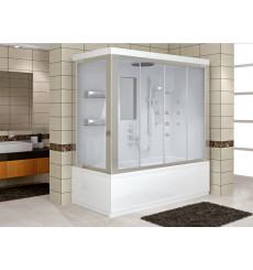 Combiné baignoire-douche DELPHINO MINI SYSTEM-1 en 120/130/140 x 70 cm