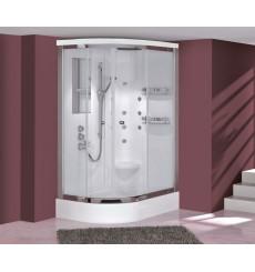 Cabine de douche SUNTOPIA SYSTEM-1angle droit en 90/100/110 x 80 cm