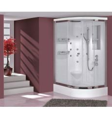 Cabine de douche SUNTOPIA SYSTEM-1 angle gauche en 90/100/110 x 80 cm