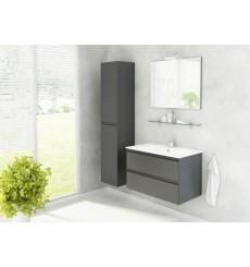 Meuble de salle de bain GUADIX Gris 80cm