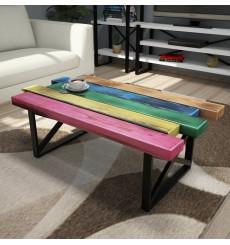 Table basse EN BOIS 80 x 50 x 35 cm