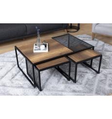 Table basse PRESTIGE NOYER 110 x 70 x 41