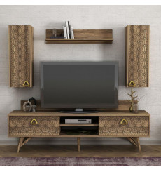 Ensemble meuble TV YAKAMOZ 180 cm