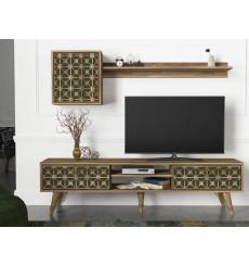 Ensemble meuble TV VALENTE 180 cm