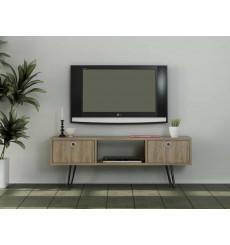Meuble TV MODA noyer 120 cm