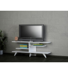 Meuble TV FEVER blanc 120 cm