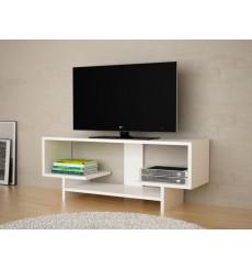 Meuble TV DOGA blanc 90 cm