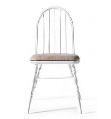 Chaise LAURA blanc