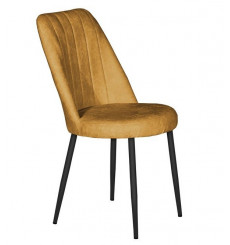Chaise OLINPA moutarde