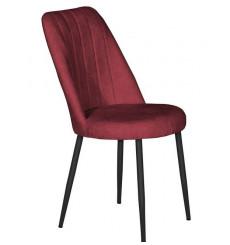 Chaise OLINPA bordeaux