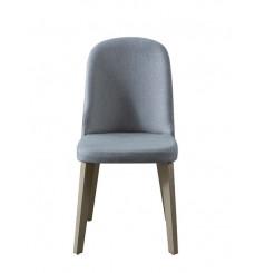 Chaise LOFT gris-doré