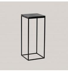 Table d'appoint en marbre noir