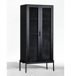 Armoire 2 portes en bois 80 cm