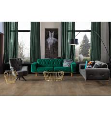 Ensemble canapé triple convertible et fauteuil ARIZONA en plusieurs couleurs