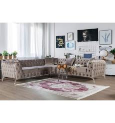 Canapé d'angle MILDOR 170 cm en plusieurs couleurs