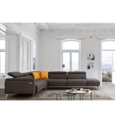 Canapé d'angle convertible électrique MANCHESTER 310 x 350 cm