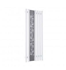Radiateur eau chaude FLOWER blanc mat en plusieurs dimensions