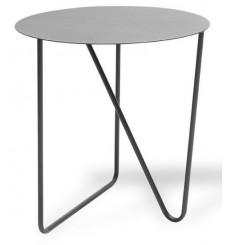Table basse ronde pliable en bois PAFU 48 cm