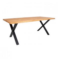 Table à manger TOULON en chêne massif 200x95 cm