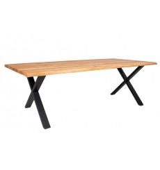 Table à manger TOULON en chêne massif 240x95 cm