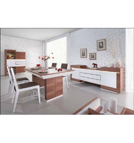 salle à manger complète FUTURIS blanc