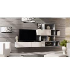 Meuble TV VIGO BOX 180 blanc ou noir